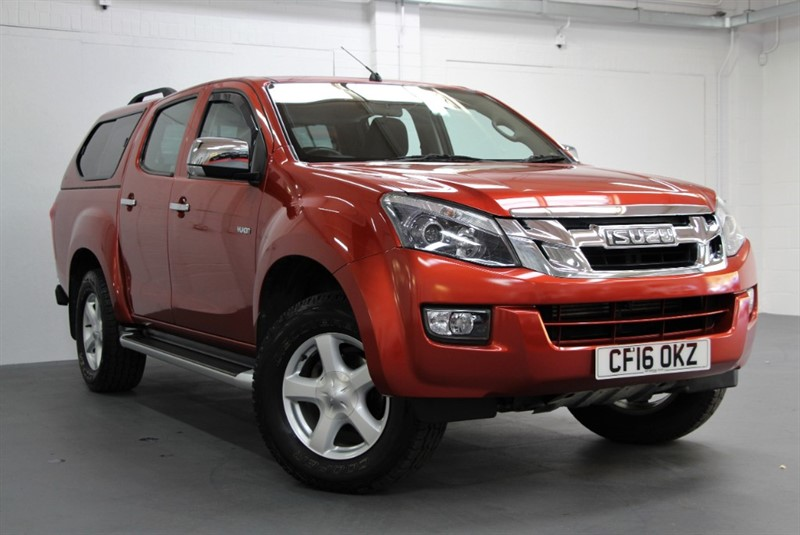 used Isuzu D-Max Yukon Double Cab [162] (1 PRIVATE OWNER !! NO VAT !!) in west-byfleet-surrey