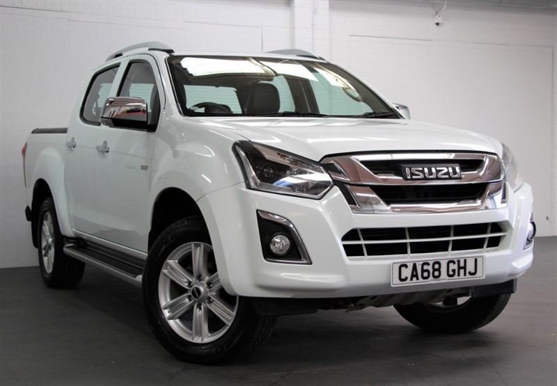 used Isuzu D-Max Utah Double Cab [162] (FREE MAINLAND UK DELIVERY !!) in west-byfleet-surrey