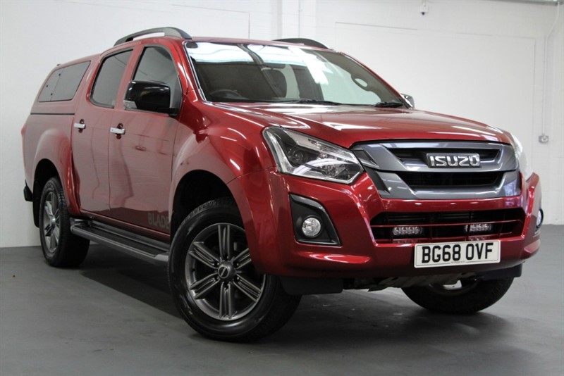 used Isuzu D-Max Tdi Blade Double Cab [163] (FREE MAINLAND UK DELIVERY !!) in west-byfleet-surrey