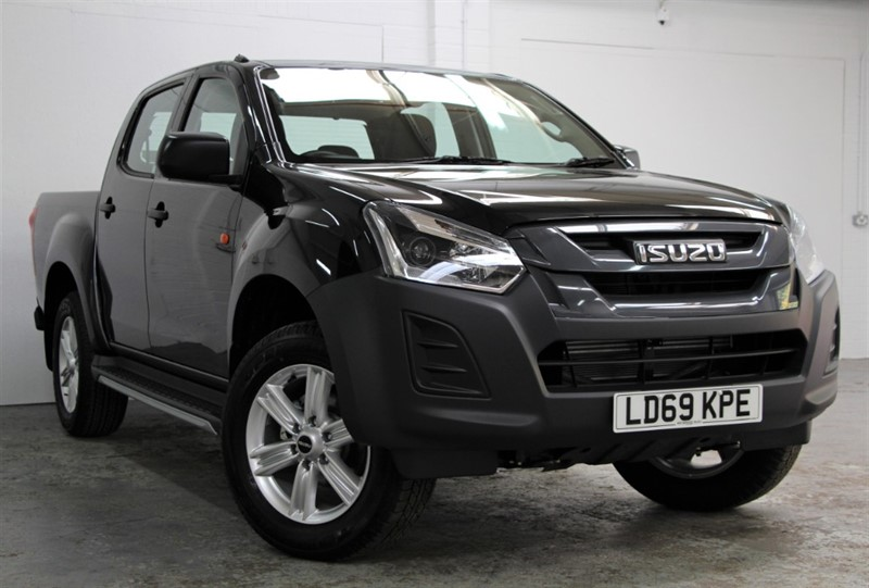 used Isuzu D-Max PRE REG - Workman+ Double Cab [162] (FREE MAINLAND UK DELIVERY !!) in west-byfleet-surrey