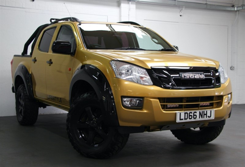 used Isuzu D-Max TD Double Cab [163] (FREE MAINLAND UK DELIVERY !!) in west-byfleet-surrey