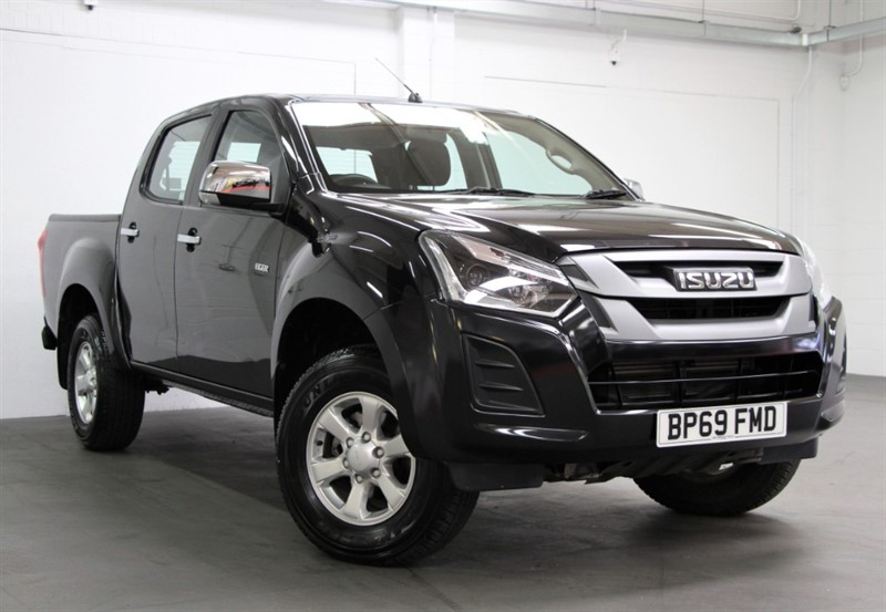 used Isuzu D-Max Eiger Double Cab [162] (FREE MAINLAND UK DELIVERY !!) in west-byfleet-surrey