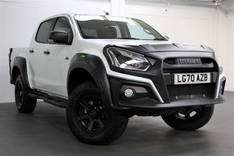used Isuzu D-Max XTR NAV+ Double Cab [162] (FREE MAINLAND UK DELIVERY !!) in west-byfleet-surrey