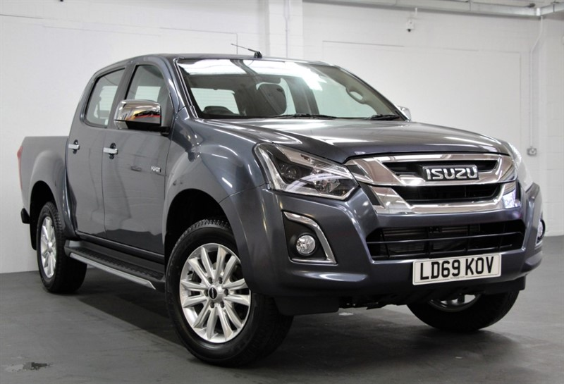 used Isuzu D-Max DEMO - Yukon Nav+ Double Cab [162] (FREE MAINLAND UK DELIVERY !!) in west-byfleet-surrey