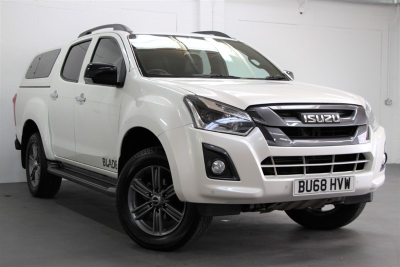 used Isuzu D-Max Blade Double Cab [162] (FREE MAINLAND UK DELIVERY !!) in west-byfleet-surrey