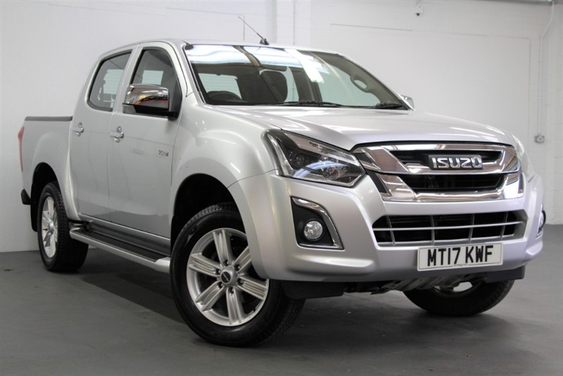 used Isuzu D-Max Yukon DCB [162] (FREE MAINLAND UK DELIVERY !!) in west-byfleet-surrey