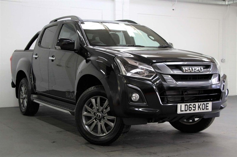used Isuzu D-Max DEMO - Blade Double Cab [162] (FREE MAINLAND UK DELIVERY !!) in west-byfleet-surrey