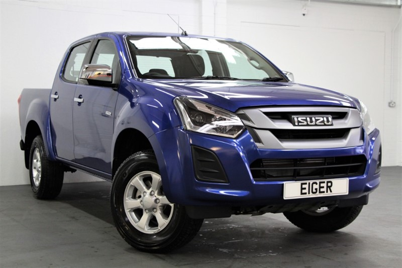 used Isuzu D-Max NEW - Eiger Double Cab [162] (LTD AVAILABILITY !! BUY NOW !!) in west-byfleet-surrey