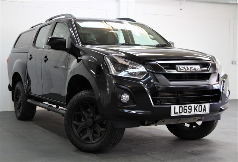 used Isuzu D-Max Utah Huntsman Plus [162] (FREE MAINLAND UK DELIVERY !!) in west-byfleet-surrey
