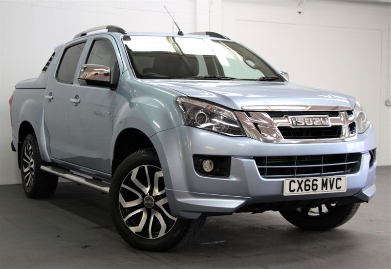 used Isuzu D-Max Centurion Double Cab [163] (FREE MAINLAND UK DELIVERY !!) in west-byfleet-surrey
