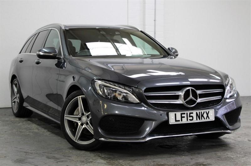 used Mercedes C220 AMG Line Premium [170] (PAN ROOF !! GREAT SPEC !!) in west-byfleet-surrey