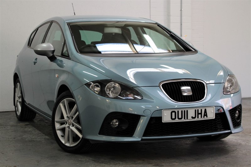 used SEAT Leon TDI CR FR [170] (MORE SOUGHT AFTER 170 BHP MODEL !!) in west-byfleet-surrey