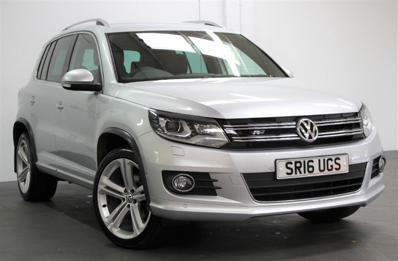 used VW Tiguan Tdi R Line Edition BMT 4Motion [150] (FREE MAINLAND UK DELIVERY !!) in west-byfleet-surrey