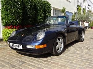 used Porsche 911 Carrera 2 Cabriolet Manual