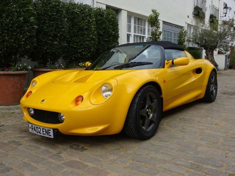 used Lotus Elise 1.8 in london