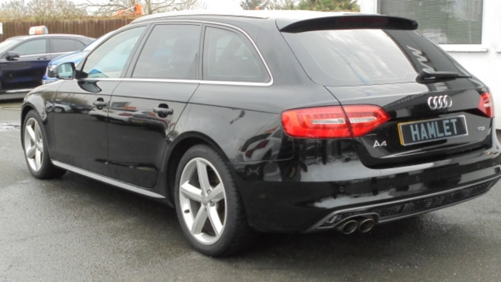 Used Phantom Black Pearl Audi A4 Avant For Sale Cheshire