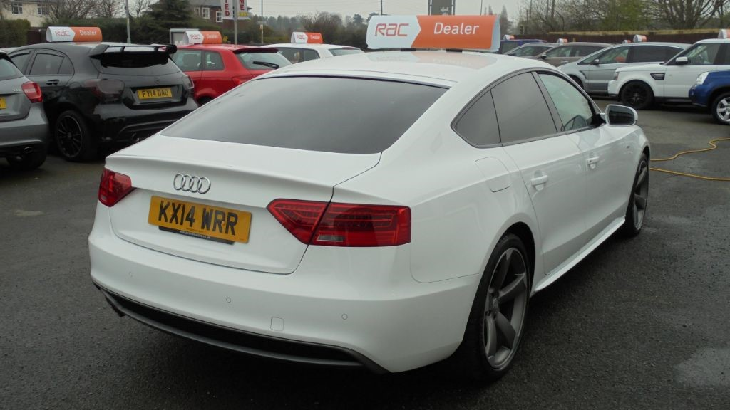 Used Ibis White Audi A For Sale Cheshire - White audi a5