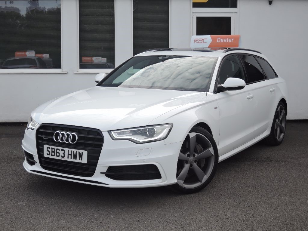 used ibis white audi a6 avant for sale cheshire. Black Bedroom Furniture Sets. Home Design Ideas