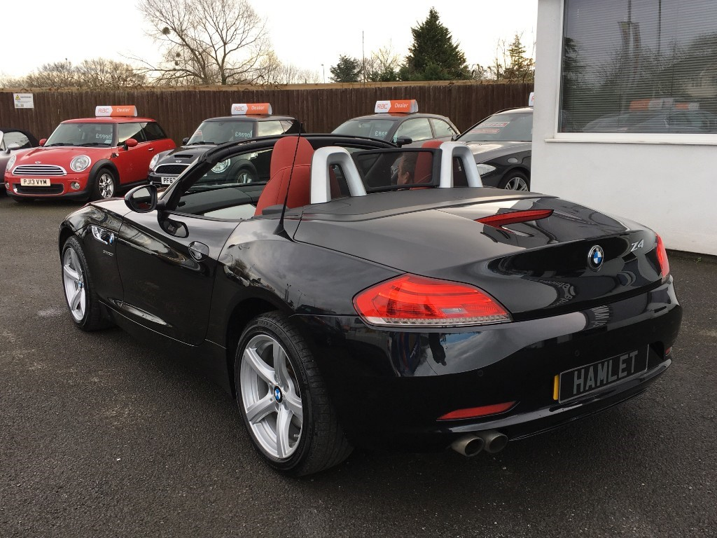Used Black Sapphire Metallic Bmw Z4 For Sale Cheshire
