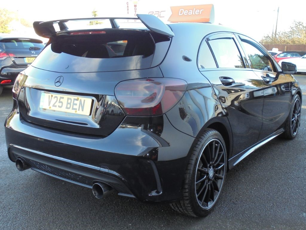 Used Brilliant Black Metallic Mercedes A180 CDI for Sale | Cheshire