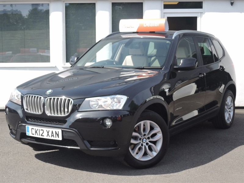 used BMW X3 XDRIVE30D SE in WIRRAL