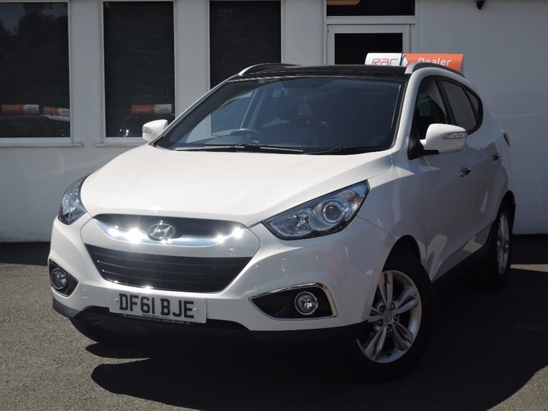 used Hyundai ix35 PREMIUM CRDI in WIRRAL