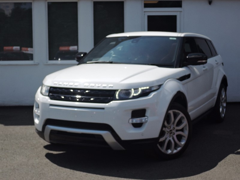 used Land Rover Range Rover Evoque SD4 DYNAMIC LUX *RED LEATHER SPORTS SEATS *Massive Spec* in WIRRAL