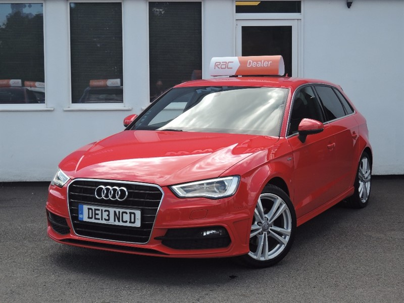used Audi A3 TDI S LINE in WIRRAL