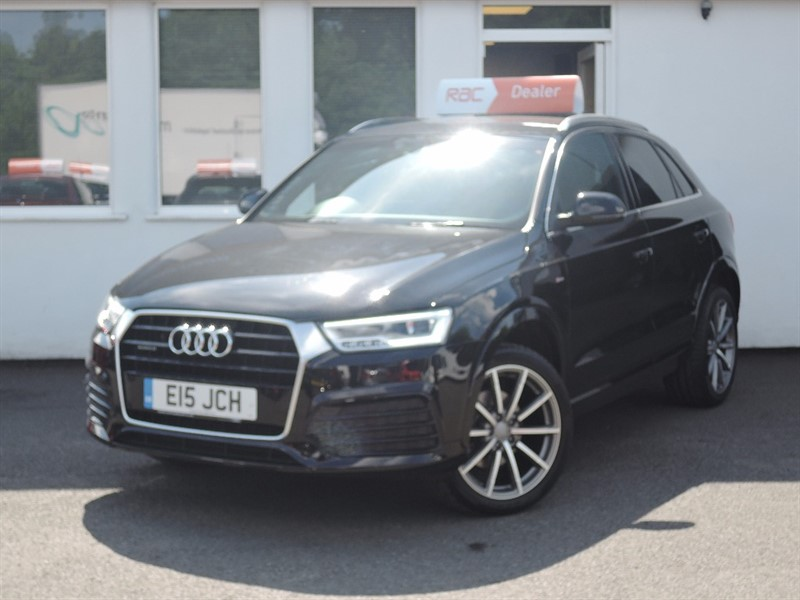 used Audi Q3 TDI S LINE PLUS in WIRRAL
