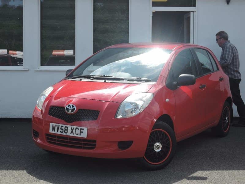 used Toyota Yaris T2 VVT-I in WIRRAL