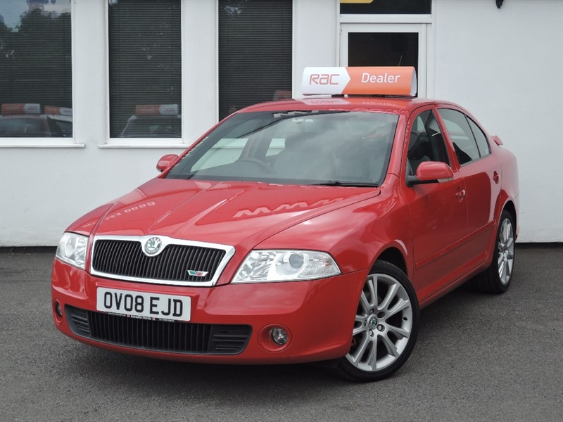 used Skoda Octavia VRS in WIRRAL