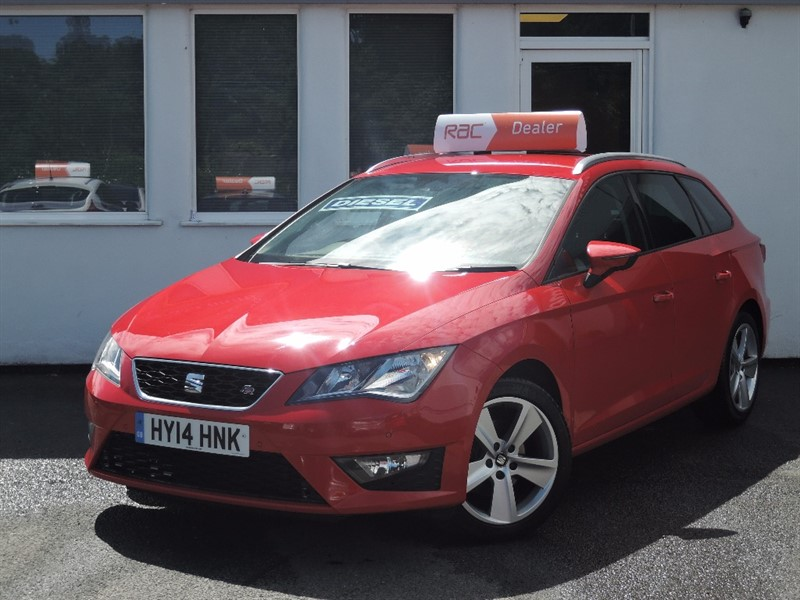 used SEAT Leon TDI FR in WIRRAL