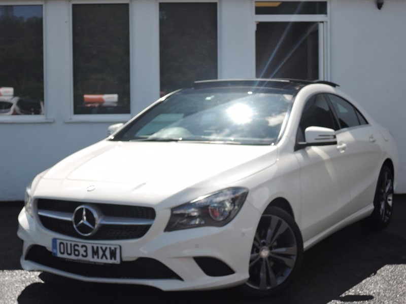 used Mercedes CLA200 CDI CLA220 CDI SPORT *PANORAMIC ROOF* in WIRRAL
