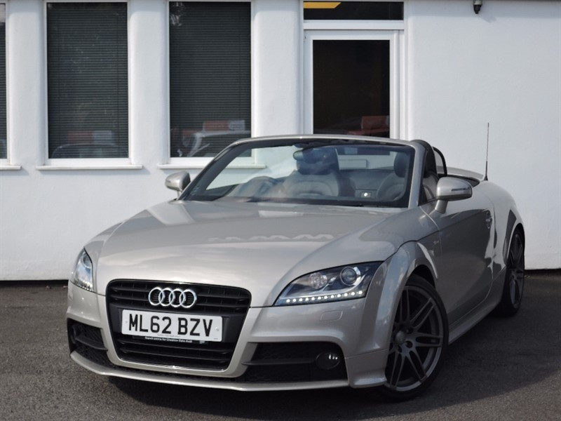 used Audi TT TFSI BLACK EDITION *Black Alloys+Heated Seats+Bose+Black Leather+FSH* in WIRRAL