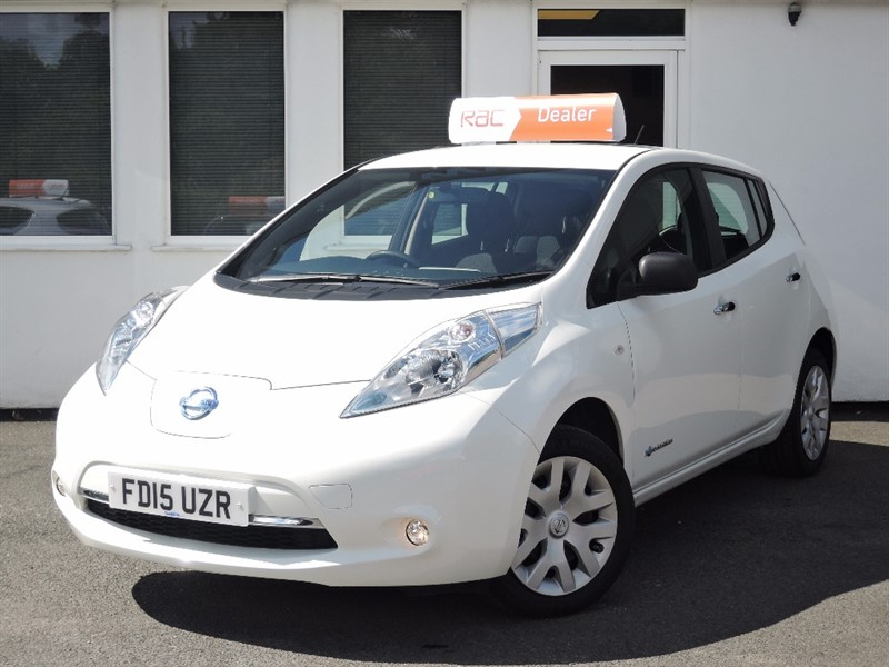 used Nissan Leaf VISIA in WIRRAL