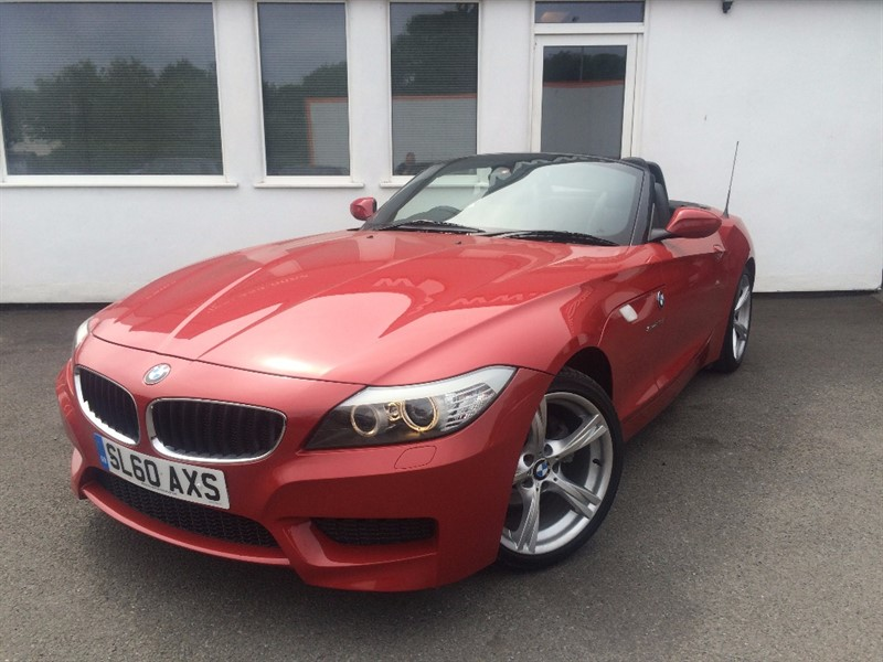 used BMW Z4 SDRIVE23I M SPORT ROADSTER in WIRRAL