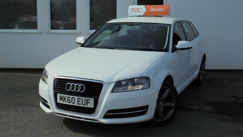 used Audi A3 SPORTBACK MPI TECHNIK in WIRRAL