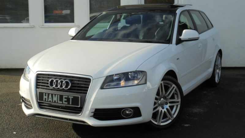 used Audi A3 MPI S LINE **PANORAMIC ROOF + FULL AUDI HISTORY** in WIRRAL
