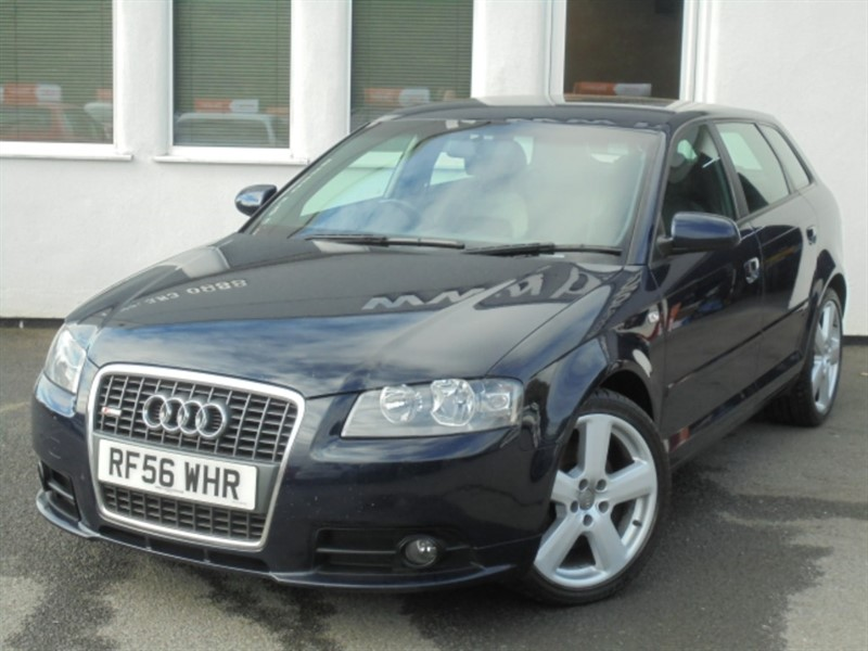 used Audi A3 TDI QUATTRO SLINE**Full History + Recent Timing Belt** in WIRRAL