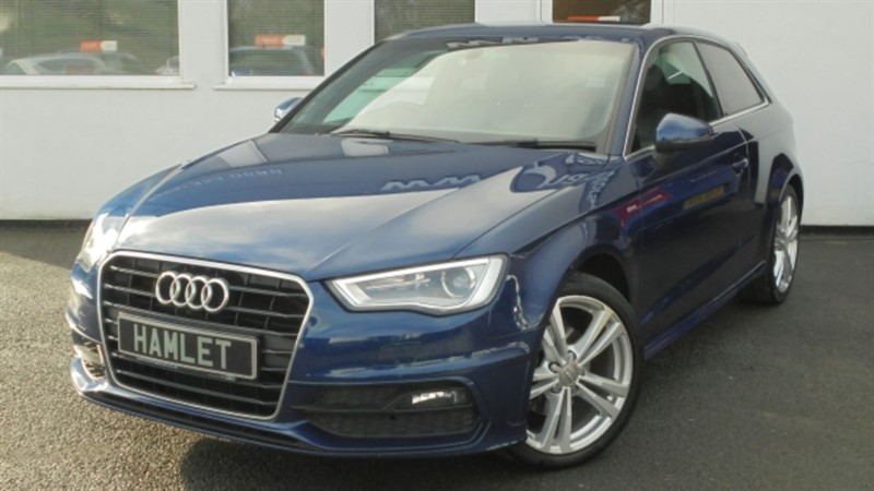used Audi A3 TFSI S LINE**Nav+Privacy+Media+Full Audi History** in WIRRAL