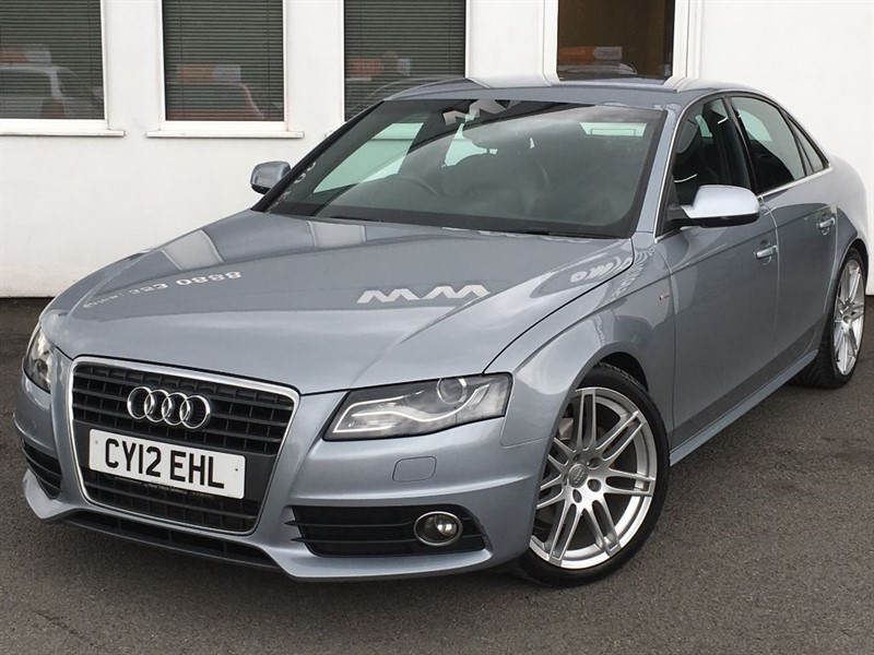 used Audi A4 TDI S LINE in WIRRAL