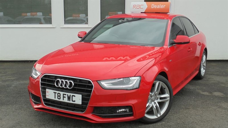 used Audi A4 TFSI S LINE S/S **8000 MILES** in WIRRAL