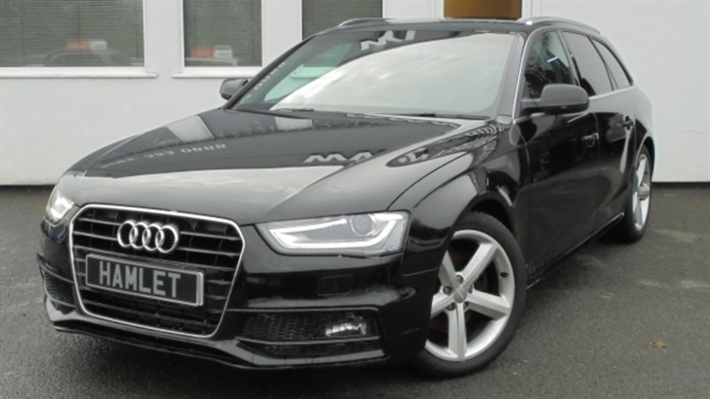 used Audi A4 Avant TDI S LINE**Full history+Privacy Glass** in WIRRAL