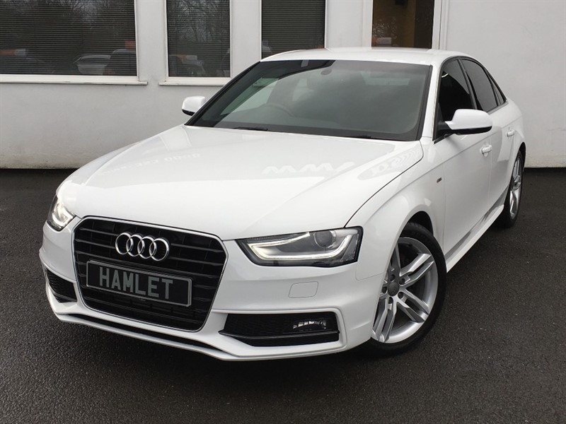 used Audi A4 TDI S LINE**Full Dealer History** in WIRRAL