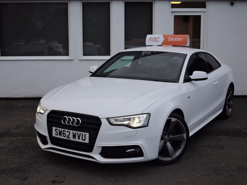 used Audi A5 TDI S LINE BLACK EDITION 170BHP  in WIRRAL