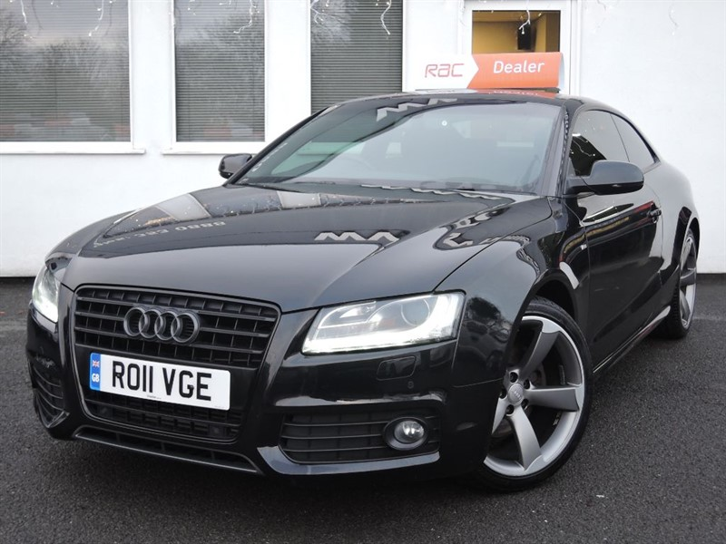 used Audi A5 TDI S LINE BLACK EDITION *SAT NAV * BANG AND OLUFSEN SYSTEM * in WIRRAL