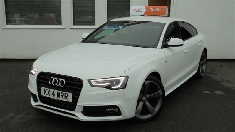 used Audi A5 SPORTBACK TDI S LINE BLACK EDITION S/S in WIRRAL