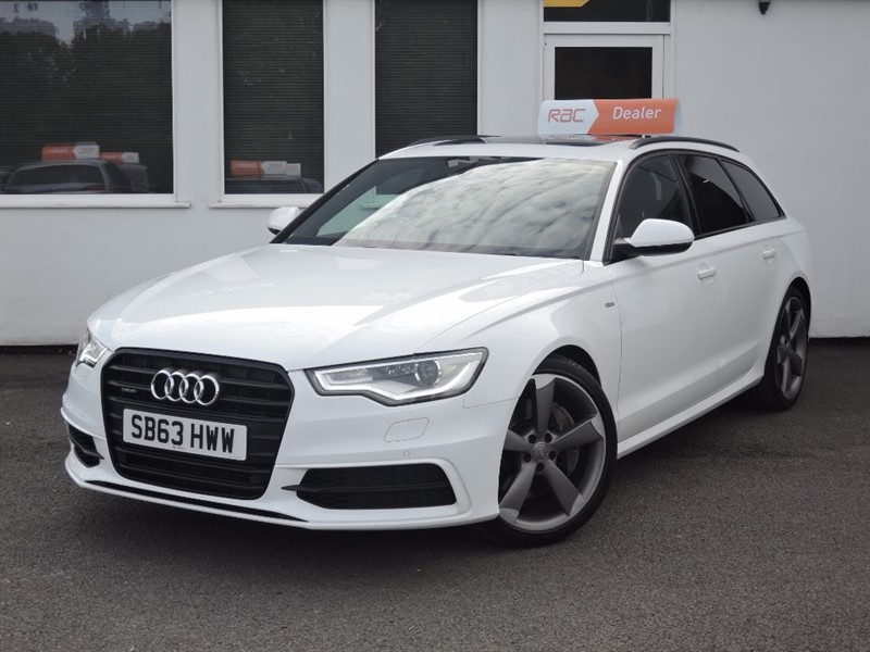 used Audi A6 Avant Bi TDi 313 BHP QUATTRO S LINE BLACK EDITION *Panoramic Roof+Mega Spec* in WIRRAL