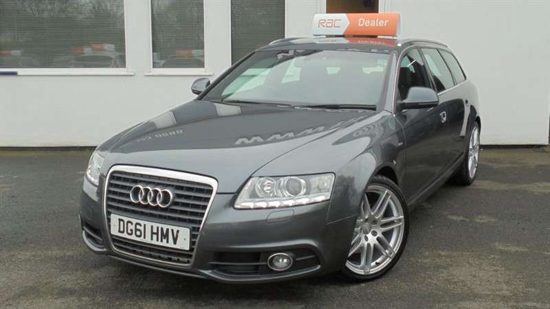 used Audi A6 Avant TDI S LINE SPECIAL EDITION in WIRRAL