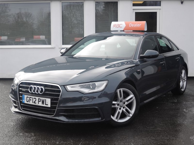 used Audi A6 TDI QUATTRO 245 BHP S LINE  in WIRRAL